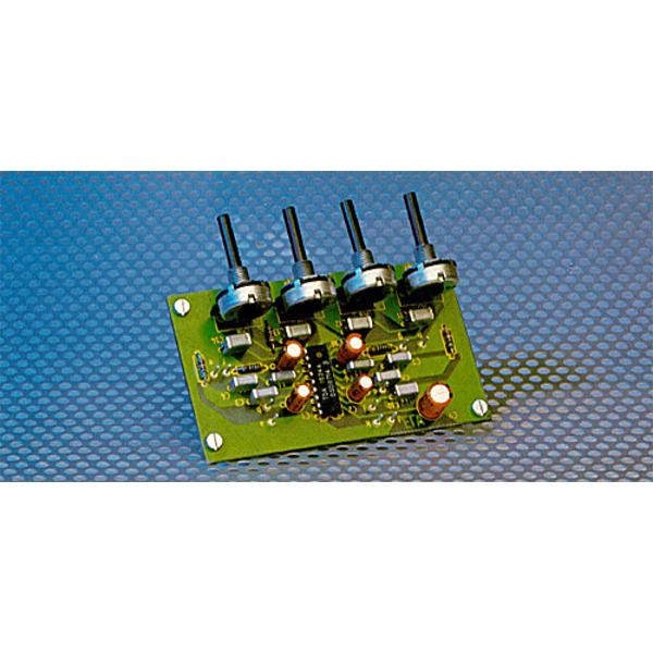 Stereo-Vorverstärker mit Kiangregelstufe