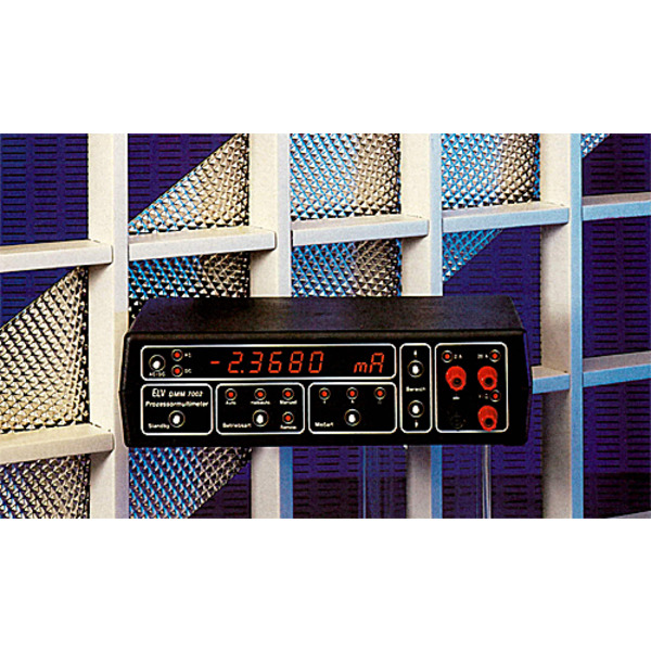 Prozessor-Digital-Multimeter DMM 7002 Teil 1/4