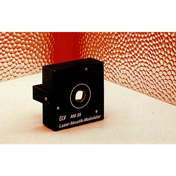 ...Lightshow vom Feinsten: der ELV-Laser-Akustikmodulator AM 25