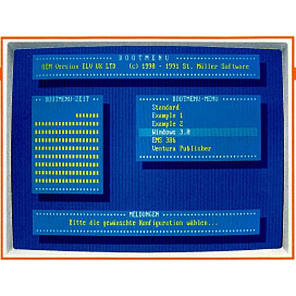BOOTMENÜ-Software