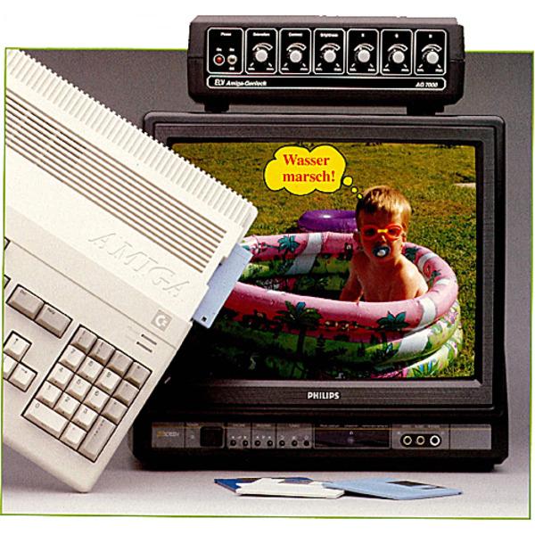 Amiga-Genlock AG 7000 Teil 1/2
