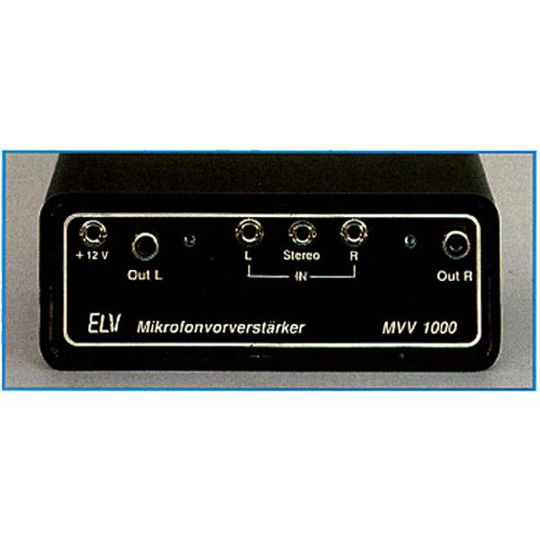 HiFi-Stereo-Mikrofon-Vorverstärker