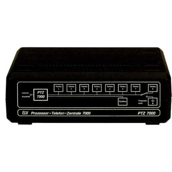 Prozessor-Telefon-Zentrale PTZ 7000 Teil 1/2