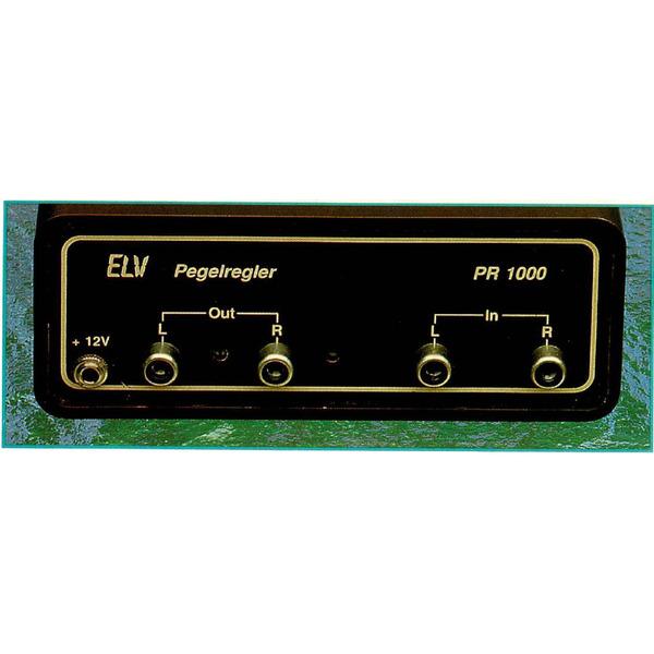 HiFi-Stereo-Pegelregler