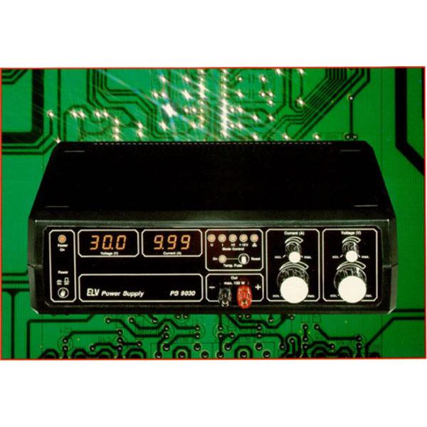 Power-Supply PS 9030: 0-30 V/10 A Teil 1/2