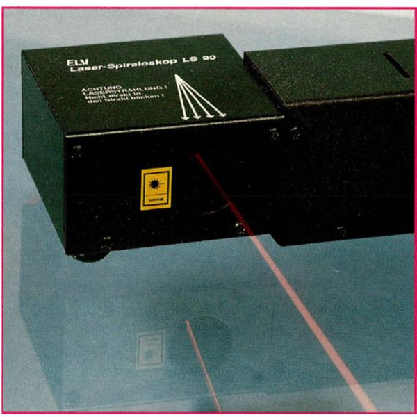 Laser-Spiraloskop LS 90: Qualität ist Trumpf!