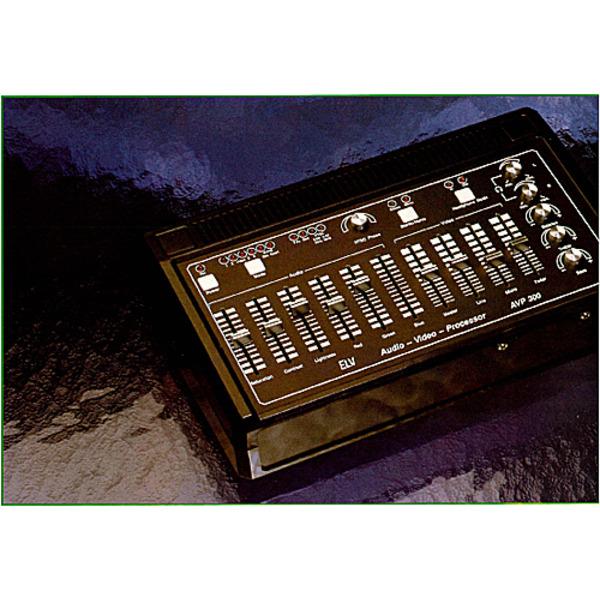 Audio-Video-Prozessor AVP 300 Teil 1/3