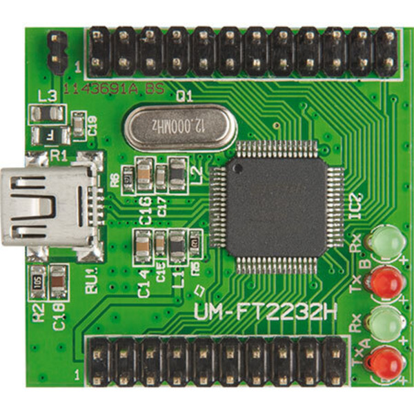 Highspeed-USB-Kommunikation einfach integriert – UART/FIFO-Wandler-Modul