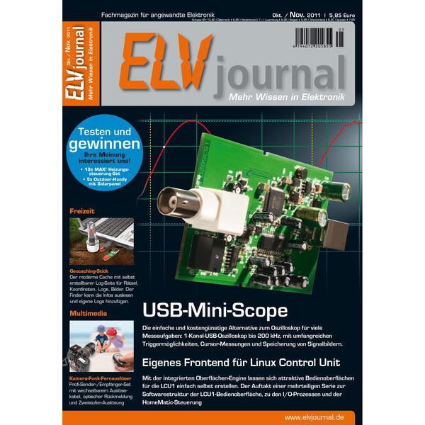 ELVjournal Ausgabe 5/2011 Digital (PDF)