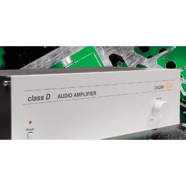 Audio-Endverstärker DA 200 Teil 2/2