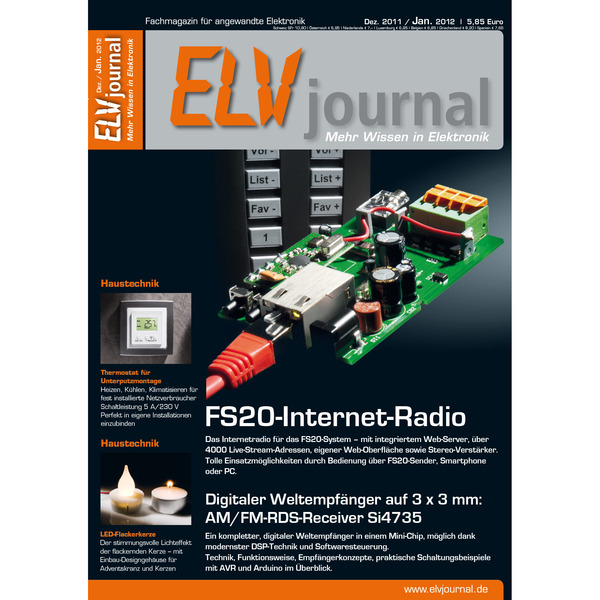 ELVjournal Ausgabe 6/2011 Digital (PDF)