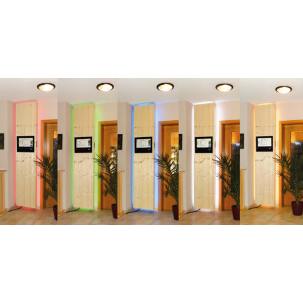 Leserwettbewerb - Ihre Haustechnik-Anwendungen: Rot, Grün, Blau, Flash und Jump - CCU-gesteuerte RGB
