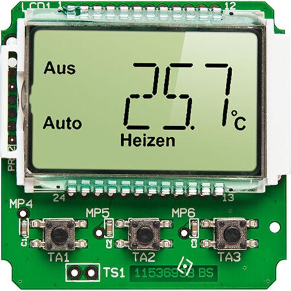 Thermostat für Unterputzmontage UTH100 UP Teil 2/2