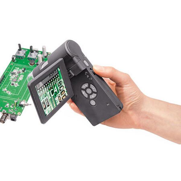 Leser testen das 5-Megapixel-Handheld-Mikroskop DNT DigiMicro Mobile