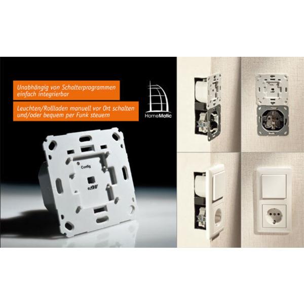 Homematic® voll integriert – Unterputz-Schalt- und -Rollladenaktoren Teil 1/2