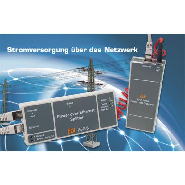Power over Ethernet-Splitter PoE-S