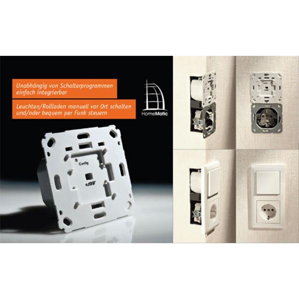 Homematic® voll integriert – Unterputz-Schalt- und Rollladenaktoren Teil 2/2