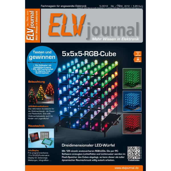 ELVjournal Ausgabe 5/2012 Digital (PDF)
