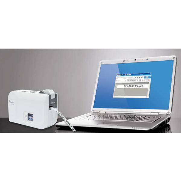 Neues Produkt getestet – USB-Etikettendrucker Brother P-Touch 1230 PC