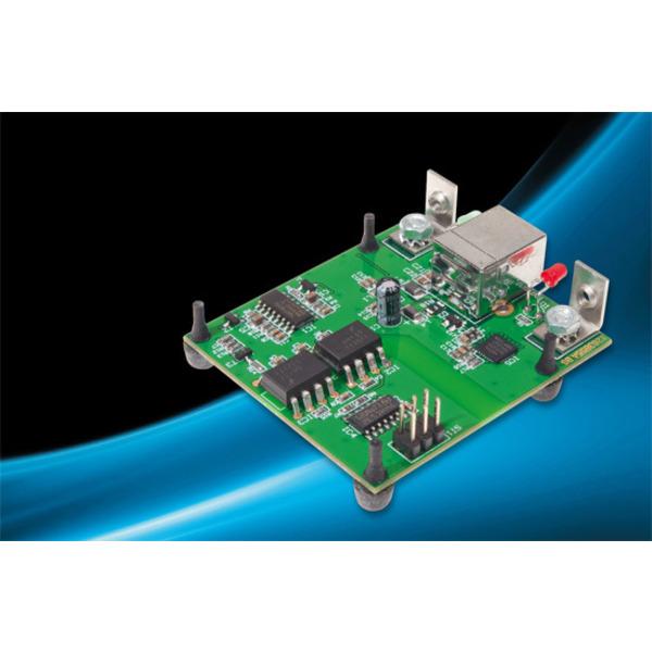 Sauber getrennt – optisch getrenntes USB-Modul UO2102