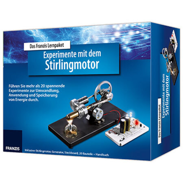 Hobbyspaß mit Lerneffekt – Experimente mit dem Stirlingmotor