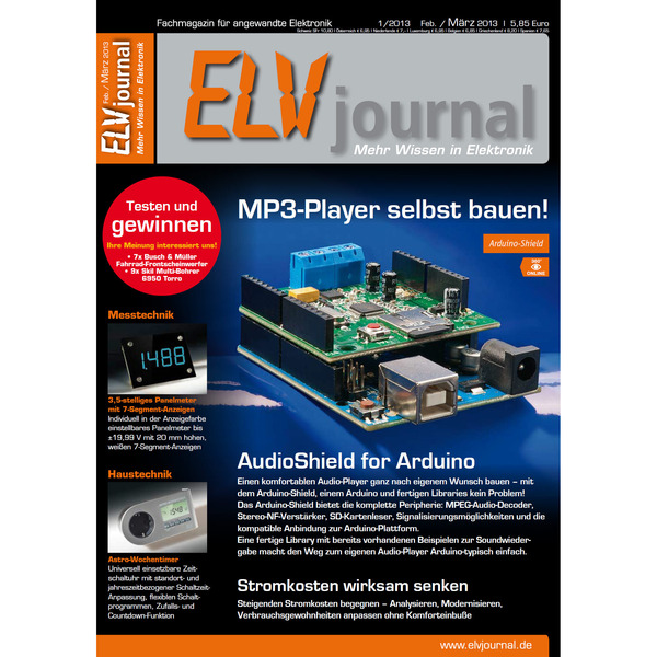 ELVjournal Ausgabe 1/2013 Digital (PDF)