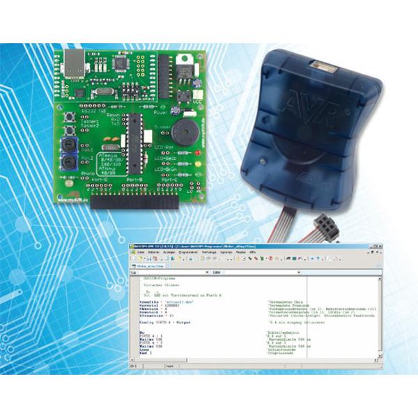 Mikrocontroller-Einstieg mit BASCOM-AVR Teil 2: Ein- und Ausgaben