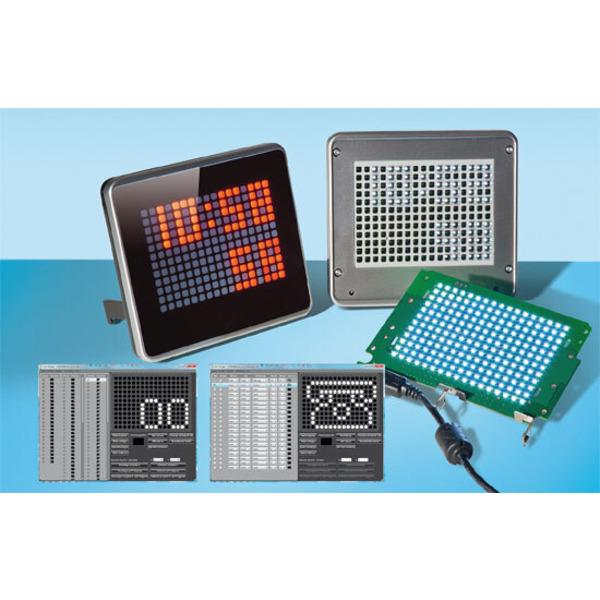 Das LED-Info-Display selbst programmieren – Demoanwendung ID100