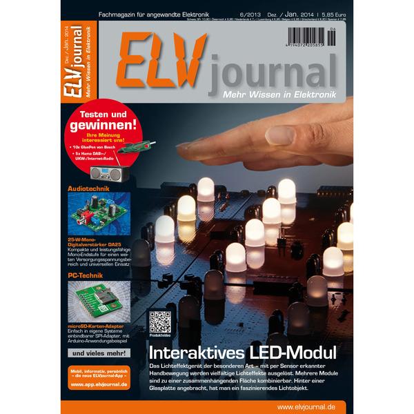 ELVjournal Ausgabe 6/2013 Digital (PDF)