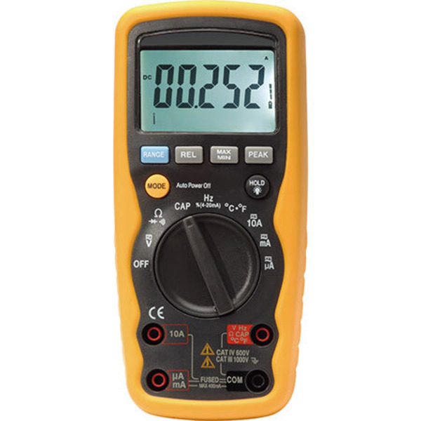 Leser testen das Digital-Multimeter DM9199 IP67