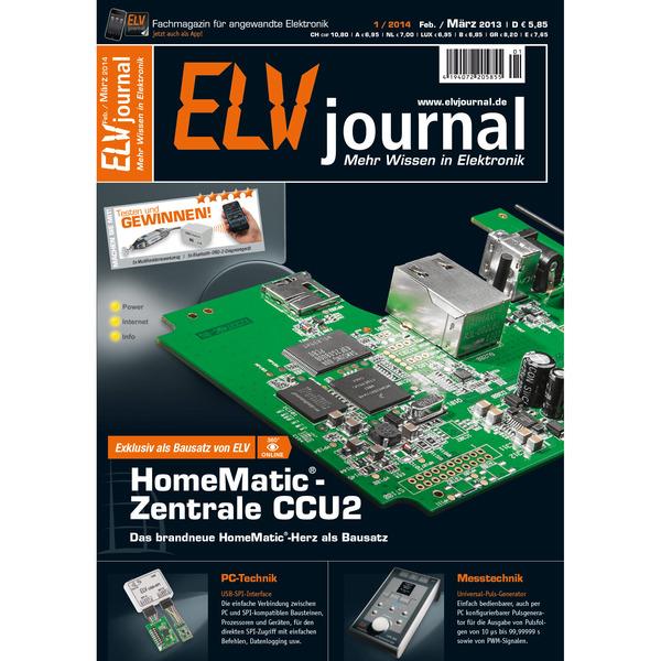 ELVjournal Ausgabe 1/2014 Digital (PDF)