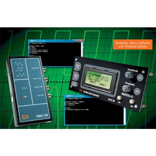 DDS130/DDS30 – das eigene Softwareinterface programmieren
