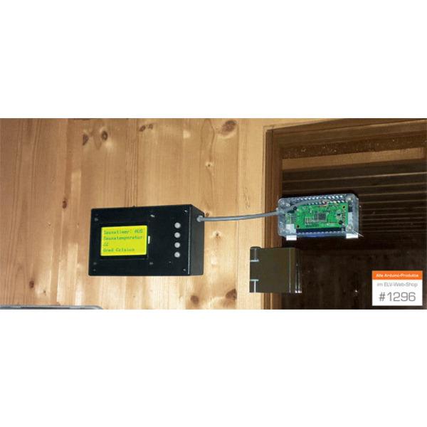 Arduino-Saunatimer mit Temperatur-/Luftfeuchteanzeige und Audioausgabe