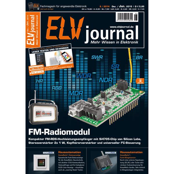 ELVjournal Ausgabe 6/2014 Digital (PDF)