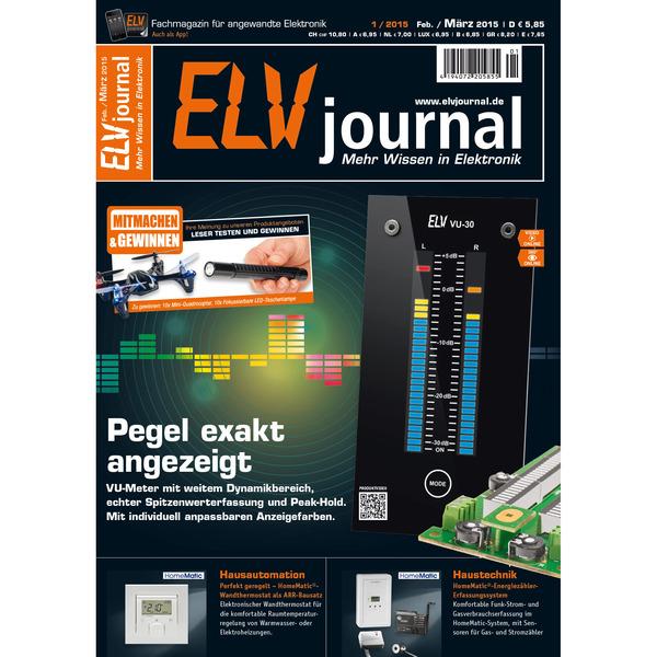 ELVjournal Ausgabe 1/2015 Digital (PDF)