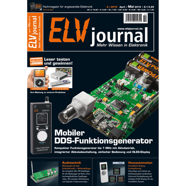 ELVjournal Ausgabe 2/2015 Digital (PDF)