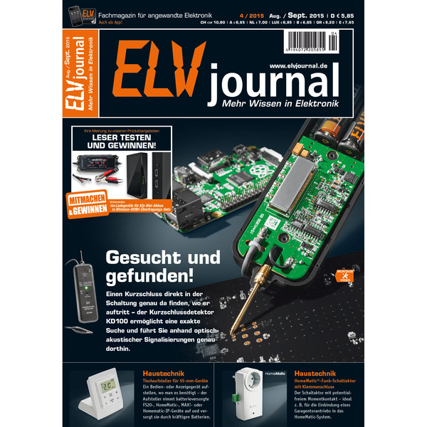 ELVjournal Ausgabe 4/2015 Digital (PDF)