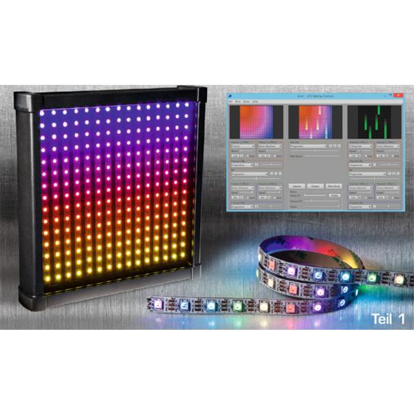 LEDs mit Intelligenz – RGB-LED mit integriertem Controller Teil 1