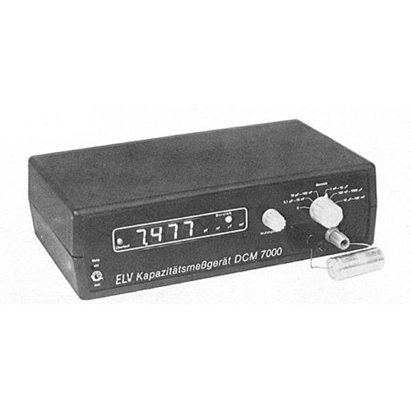 Digitales Kapazitätsmeßgerät DCM 7000