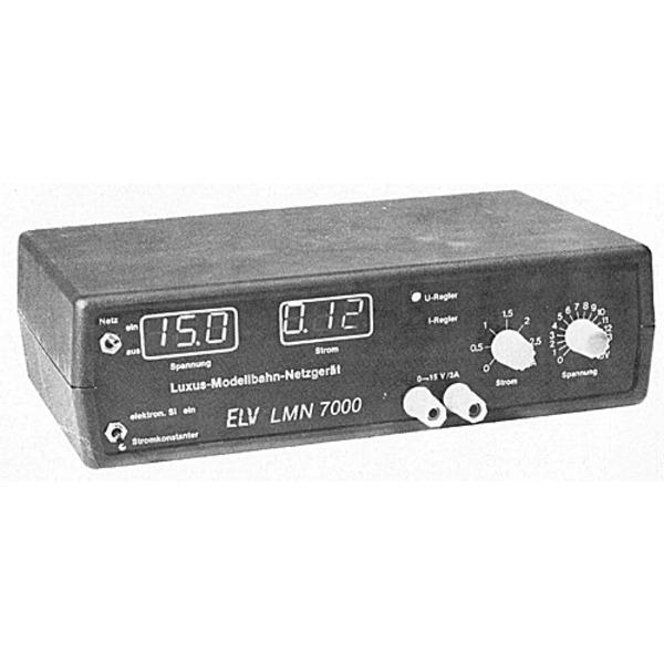 ELV-Serie Modelleisenbahn-Elektronik Teil 2/5: Schaltungsbeschreibung vom Luxus-Modellbahn-Netzgerät
