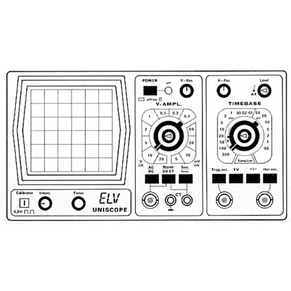 ELV-UNISCOPE 10 MHz-Oszilloskop von ELV-HAMEG Teil 3a/6