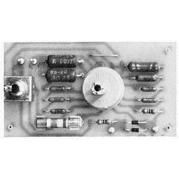Präzisions-Widerstands-Vorteiler mit Überlastschutz für digitate Panelmeter
