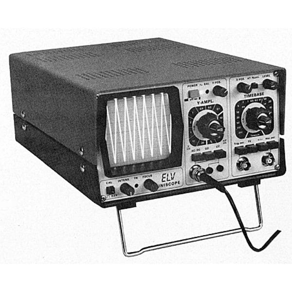ELV-UNISCOPE 10 MHz-Oszilloskop von ELV-HAMEG Teil 4/6