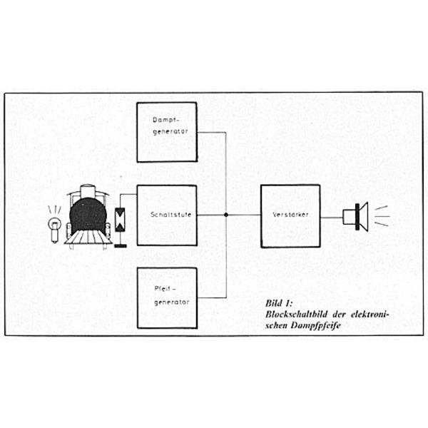 ELV-Serie Modelleisenbahn-Elektronik Teil 4/5: Elektronische Dampfpfeife
