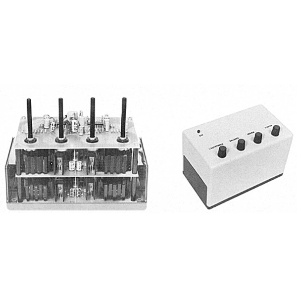 Vorverstärker mit Klangregelteil für 12 V-Leistungs-Verstärker