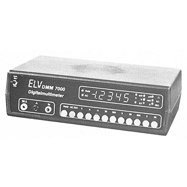 ELV-Serie 7000: 4 1/2stelliges Digital-Multimeter DMM 7000