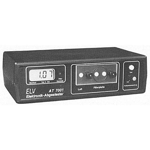 ELV-Serie Kfz-Elektronik: ELV-Abgastester AT 7001