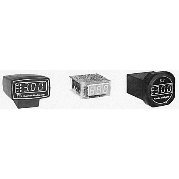 ELV-Serie Kfz-Elektronik: Digitales Kfz-Kombi-Meßgerät