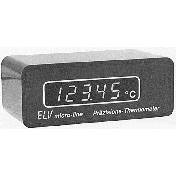 ELV-Serie micro-line: 4,5stelliges LED-Präzisions-Thermometer