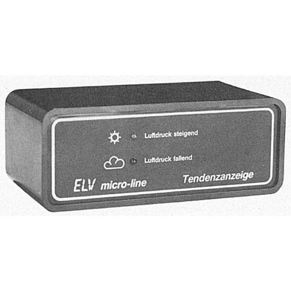 Tendenzanzeige für elektronische Barometer